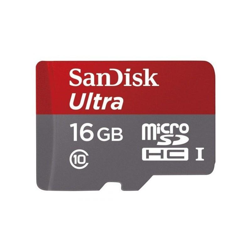 Sandisk 16GB Mobile Ultra Kit Class 10 UHS-I microSDHC memóriakártya
