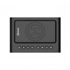Quazar Speaker Clock Bluetooth hangszóró, Óra és vezeték nélküli töltő