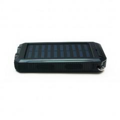 Quazar Q-Solar Cell napelemes power bank LED lámpával
