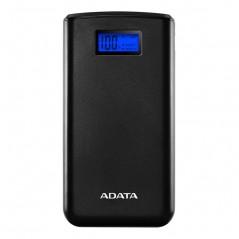 ADATA Power Bank 20000mAh AS20000D, Fekete külső akkumulátor