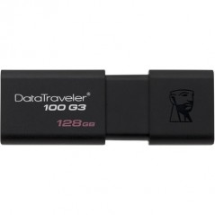 Kingston 128GB Data Traveler 100 Generation 3 USB 3.0 pendrive fekete