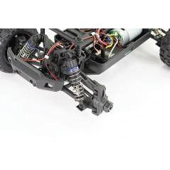 FTX Tracer 1/16 4WD Monster Truck, RTR 2,4 Ghz távirányítós autó, fekete-narancs