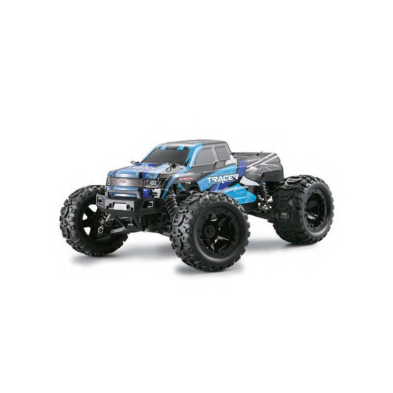 FTX Tracer 1/16 4WD Monster Truck, RTR 2,4 Ghz távirányítós autó, kék