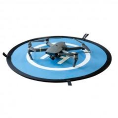 Összehajtható leszálló platform drónokhoz