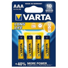 Varta Longlife AAA LR03 4 db Mikro elem