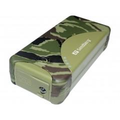 Sandberg Outdoor 5200mAh külső akkumulátor (por és cseppálló, LED lámpa)