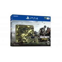 Sony Playstation 4 Slim 1 TB konzol + Call of Duty WWII limitált csomag