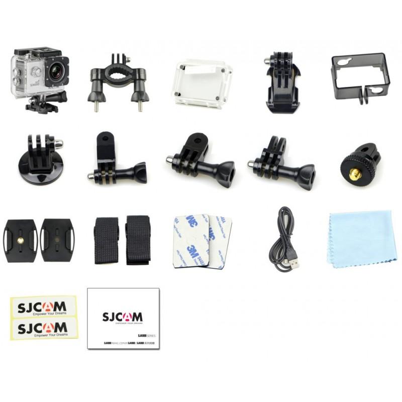 SJCAM SJ4000 FullHD sportkamera, ezüst - HDTech drón ...