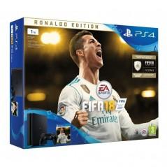 Sony Playstation 4 Slim 1 TB + FIFA 18 Deluxe szoftver csomag