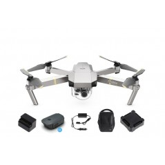 DJI Mavic Pro Platinum drón Fly More Combo