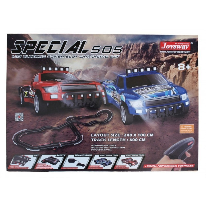 Joysway Slot Car Special 505 1:43 600 cm