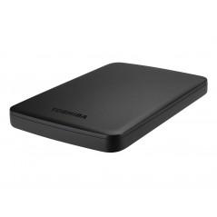"""Toshiba 1TB Canvio Basics Matt fekete 2.5"""" Külső HDD USB3.0"""