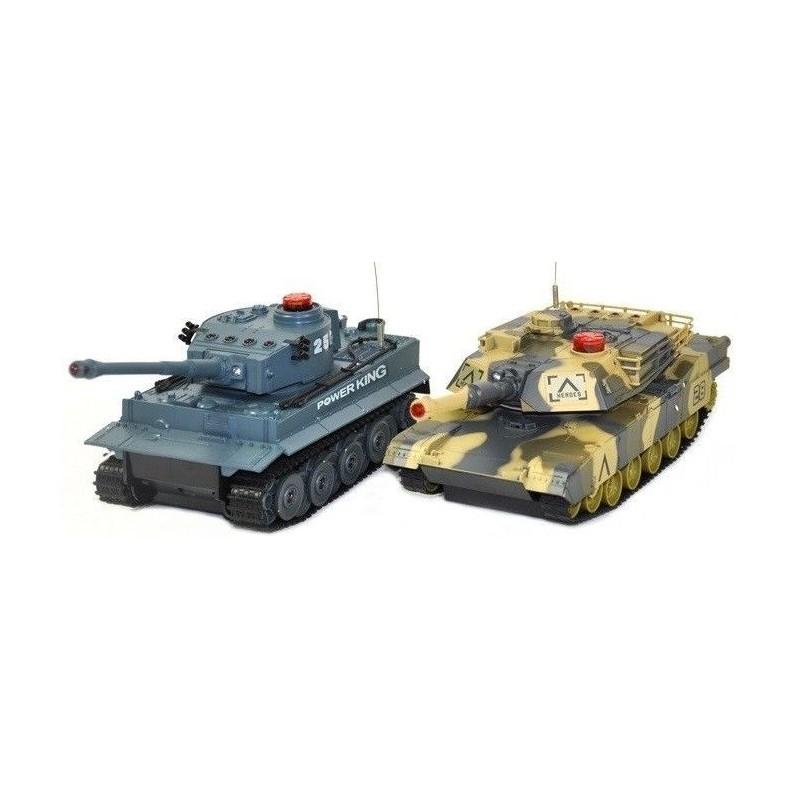 UniFun Német és Abrams 1:24 RC tank szett