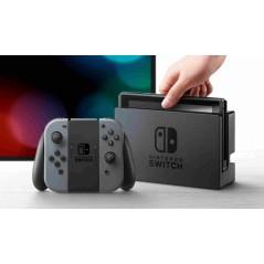 Nintendo Switch videojáték konzol szürke Joy-Connal