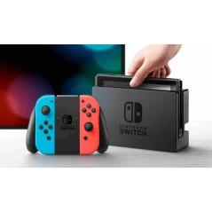 Nintendo Switch videojáték konzol piros és kék Joy-Connal