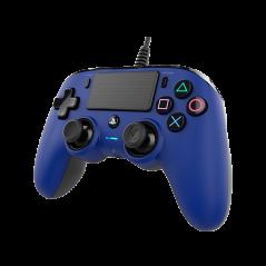 Bigben Nacon PS4 vezetékes kontroller kék színben