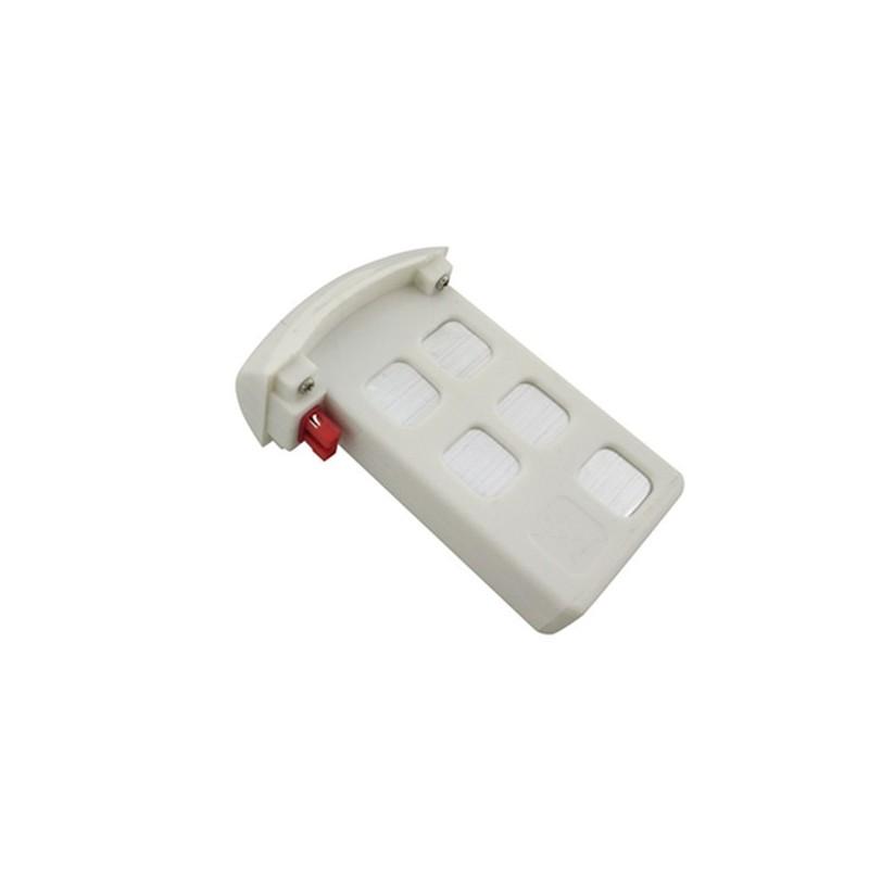 Syma X5UW akkumulátor, 3.7V 500 mAh LiPo, fehér
