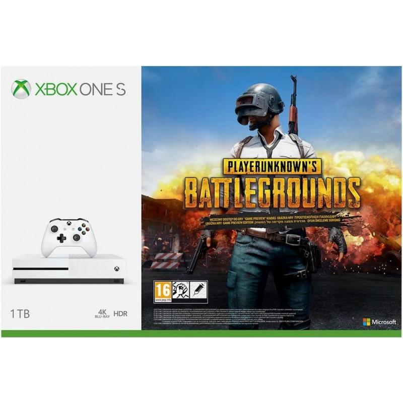 Microsoft Xbox One S 1TB PlayerUnknown´s Battleground szoftverrel