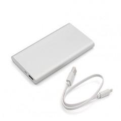 Xiaomi Mi Power Bank 2 10000 mAh, ezüst színű külső akkumulátor