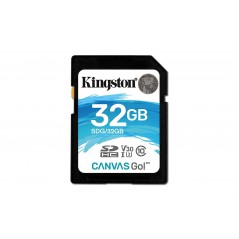 Kingston 32GB SDHC Canvas Go Class 10 UHS-I U3 memóriakártya