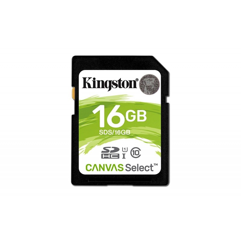 Kingston 16GB SDHC Canvas Select Class10 UHS-I