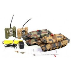UniFun Abrams 1:16 RC távirányítós tank szett