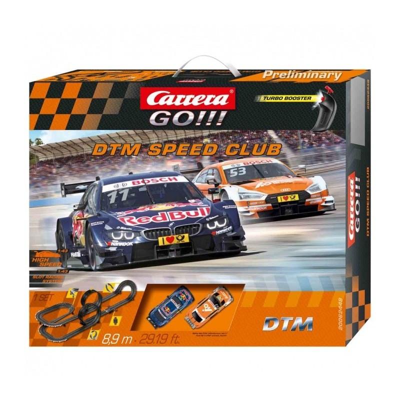 Carrera GO 62448 DTM Speed Club Autópálya