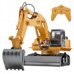 H-Toys Die Cast 1:16 RTR 11 csatornás 2,4 GHz távirányítós markoló