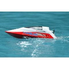 Volantex Tumbler RTR Mini 2,4GHz piros távirányítós hajó