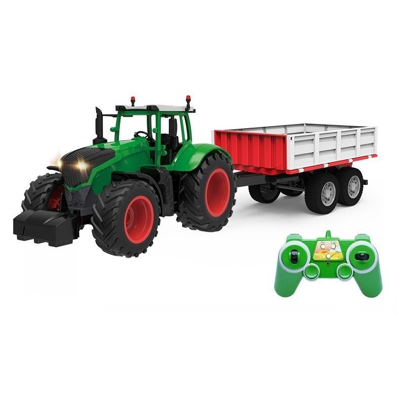 Double Eagle távirányítós traktor pótkocsival, 2,4 GHz RTR, 1:26