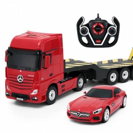 Rastar Mercedes-Benz Actros és AMG GT távirányítós kamion és autó