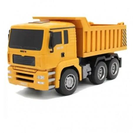 Huina 6 csatornás 1:18 távirányítós billenős teherautó