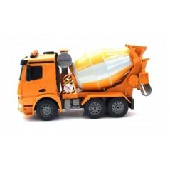 Double Eagle távirányítós Mercedes-Benz Arocs betonkeverő, 2,4 GHz RTR, 1:20, sárga