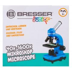 Bresser Junior Biolux SEL 40–1600x mikroszkóp, lila