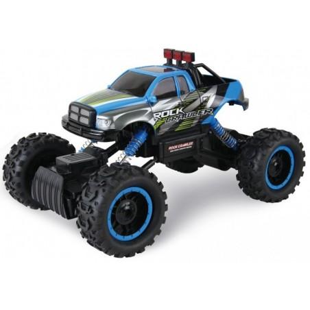 HB Rock Crawler 4WD RTR 1:14 (33 cm hosszú) 2,4Ghz távirányítós autó, kék