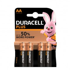 Duracell Plus Power MN1500 LR6 AA 4 db ceruzaelem