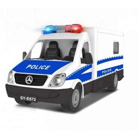 Double Eagle Mercedes távirányítós rendőrautó RC 2.4GHz, 1:18