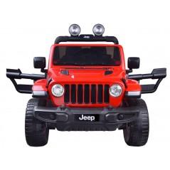 Joko JEEP Wrangler 4x45W elektromos kisautó, hivatalos licenc, piros