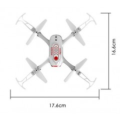Syma X22SW WiFi FPV kamerás drón, fehér