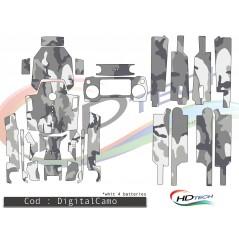 DJI Mavic Pro matrica szett - DigitalCamo