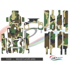 DJI Mavic Pro matrica szett - WoodLandCamo