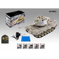 Zegan Leopard 2 ASG 1:18 RTR műanyag lövedékes távirányítós tank