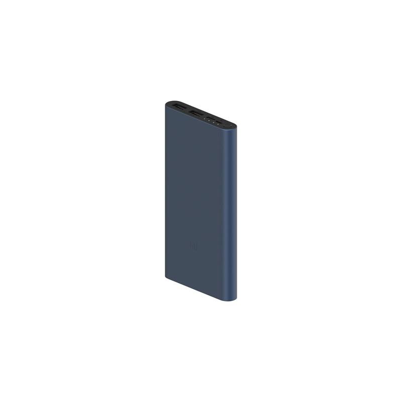 Xiaomi Mi 10000mAh 18W Fast Charge Power Bank 3, fekete külső akkumulátor