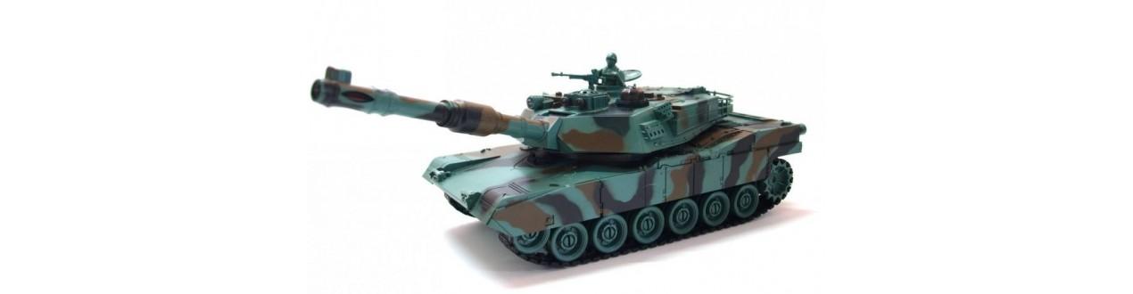 RC, távirányítós tankok