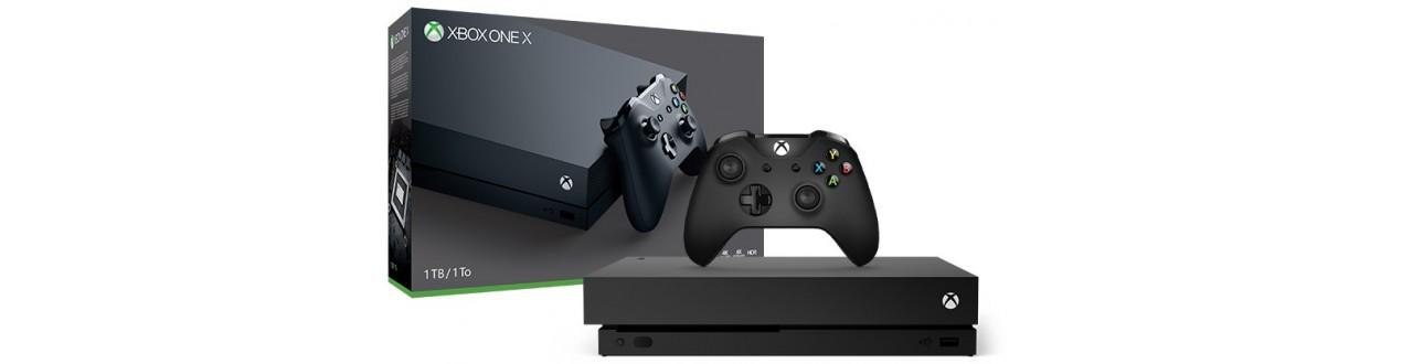 Xbox One S és X konzolok