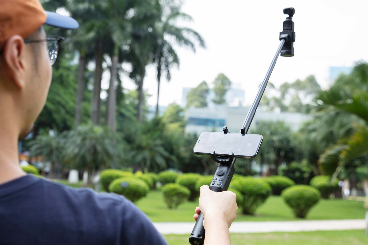 DJI Osmo Pocket extension rod hosszabító rúd