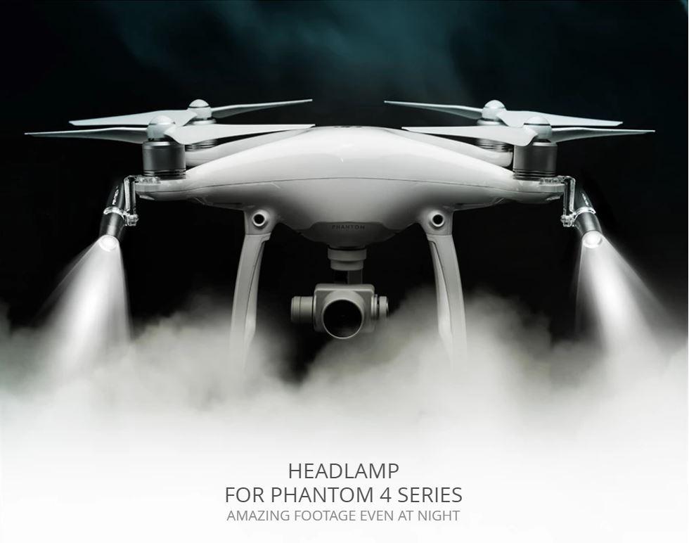 DJI Phantom 4 lámpa