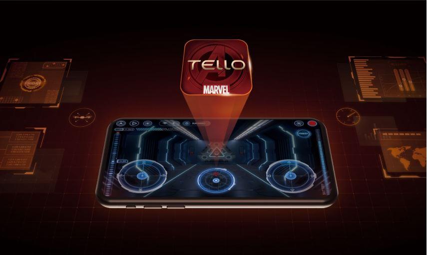 Ryze DJI Tello Iron Man Hero app