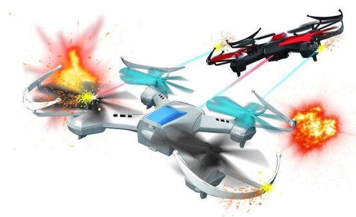 Fleg légi csata szett 2 drónnal