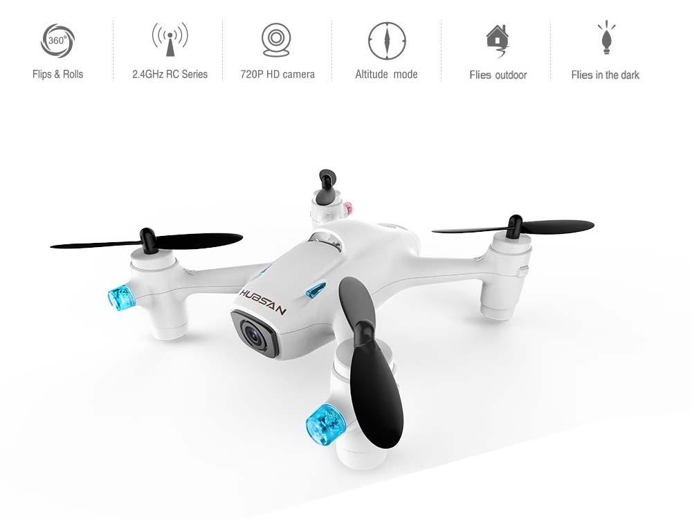Hubsan H107C+ kamerás kezdő drón